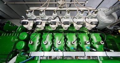 Die Baureihe der Wasserstoff-BHKW agenitor H2 von 2G umfasst ein elektrisches Leistungsspektrum von 115 kW bis 360 kW bei einem maximalen Gesamtwirkungsgrad von 82,2 %. Bildquelle: 2G Energy AG