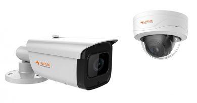 Zwei neue Überwachungskameras LUPUS-Electronic