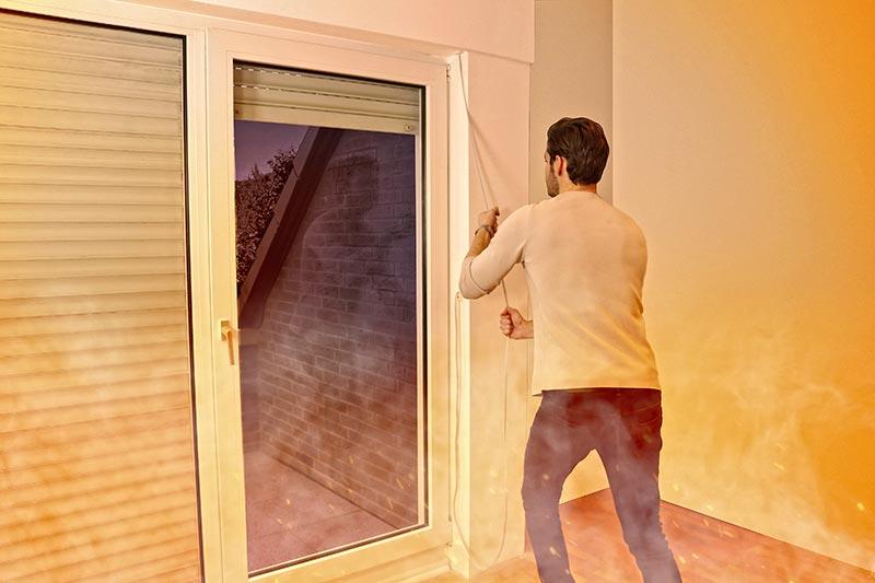 Dank ausgefeilter Technik sowie der intuitiven und schnellen Bedienung sind Fenster oder Türen, die mit einer MAN Rescue Einheit ausgestattet sind, problemlos als zweiter Rettungsweg zu nutzen.