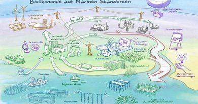"""Der Innovationsraum Norddeutschland """"Bioökonomie auf Marinen Standorten (BaMS)"""" stellt Aquakulturen mit aquatischen Organismen aus Süß- und Salzwasser in den Mittelpunkt einer umfassenden Kreislaufwirtschaft. Bild: Christian Ridder"""