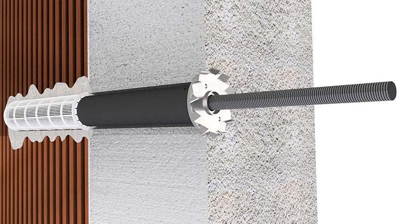 ProziFix überbrückt bis zu 200 Millimeter Wärmedämmung und spart somit Zeit und Material während der Montage. Foto: Sihga GmbH