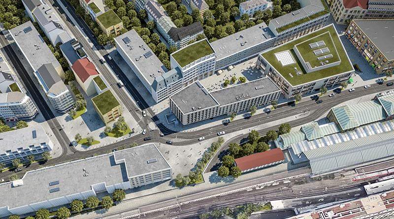 """Vom sozialen Brennpunkt zum urbanen Hotspot: Mit """"Urban Soul"""" wird das Tor zur Bonner Innenstadt künftig in neuem Glanz erstrahlen. Foto: die developer / Cadman"""