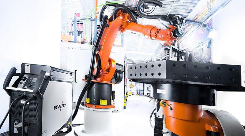 Lückenlose Dokumentation und Qualitätssicherung wird auch beim Roboterschweißen immer wichtiger. Bildquelle: EWM