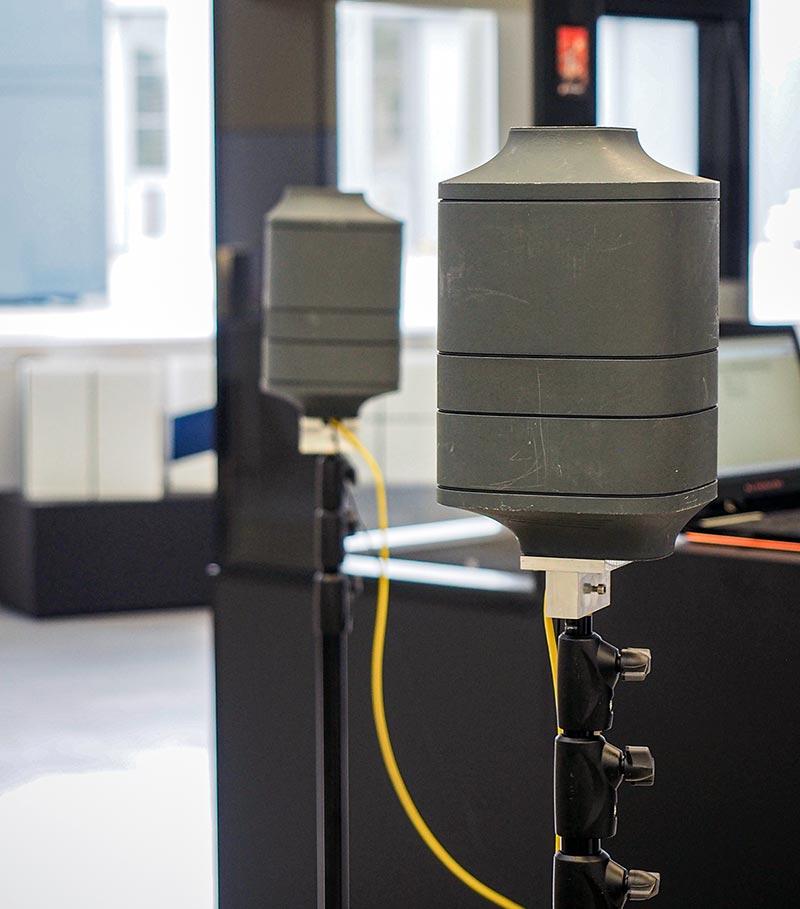 mmWave-Knoten werden zur schnellen Datenübertragung eingesetzt. Bild: se com-merce