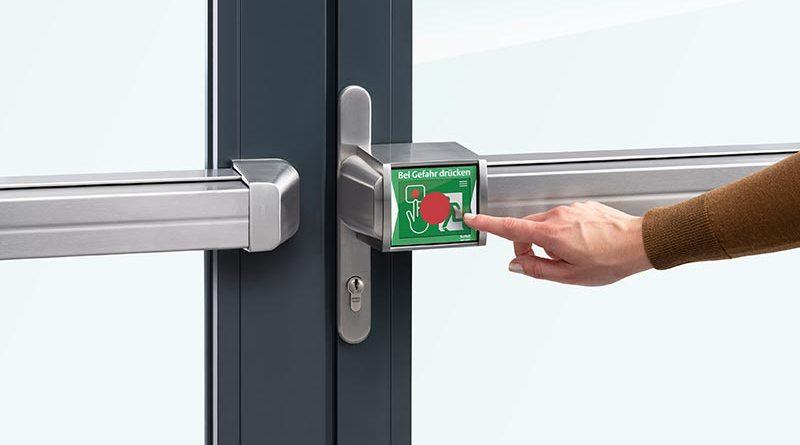 ePED Panik-Druckstange für Fluchttüren. Foto: ASSA ABLOY Sicherheitstechnik GmbH