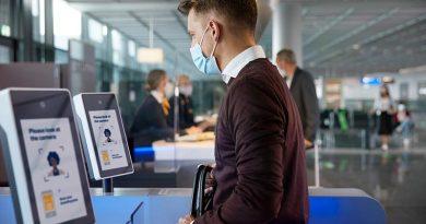 Kontaktlos Reisen mit Gesichtserkennung am Flughafen Frankfurt