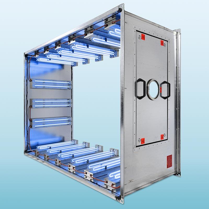 Auch Klima- und Lüftungsanlagen bergen ein hohes Risiko für die Verbreitung von Viren und Mikroorganismen. Mit AirStream bietet BÄRO ein bewährtes Portfolio effektiver UV-C-Systeme, die sich sowohl zur Integration in Lüftungssysteme von Bestandsoder Neuanlagen eignen, als auch mit dem eigenständigen Lüftungsmodul AirStream C zur effektiven Luftentkeimung.