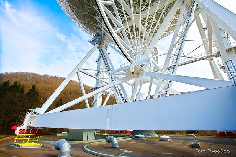 """Die T30 Feuerschutzklappe """"System Schröders"""", ist unterhalb des Teleskops in dessen Drehbereich verbaut. Bildquelle: TwooDoo für System Schröders"""
