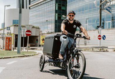 Urbane Mobilität mit dem Lasten-Fahrrad
