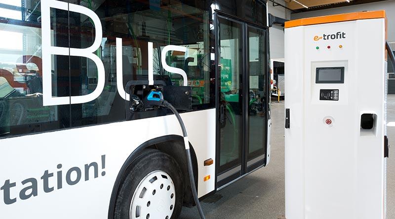 Effektives Schnellladen von E-Bussen