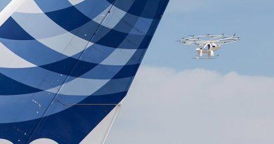 Volocopterbaut das weltweit erste nachhaltige und skalierbare Urban Air Mobility-Business, um erschwingliche Flugtaxi-Services in den Megastädten dieser Welt zu etablieren. Bildquelle: Volocopter